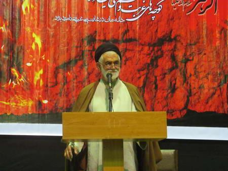 حجت الاسلام والمسلمین حاج سید عسگری هاشمی نسب