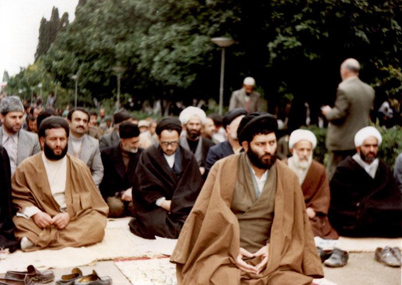 حضور شهید هاشمی نژاد در نماز جمعه بهشهر