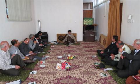 ستاد اعتکاف شهرستان بهشهر 92