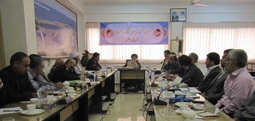 شورای فرهنگ عمومی شهرستان بهشهر در سال 92 - حضرت آیت الله جباری