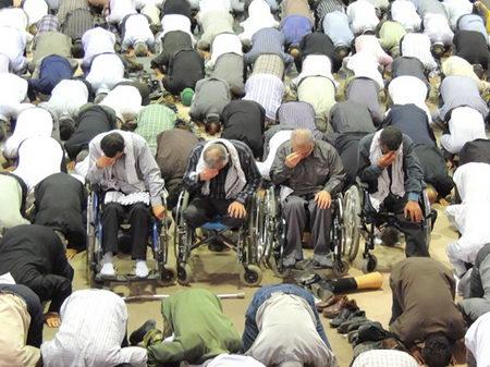 نماز جمعه روز قدس - رمضان 1392 - بهشهر