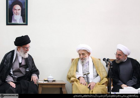امام خامنه ای(س) در با دیدار اعضای مجلس خبرگان