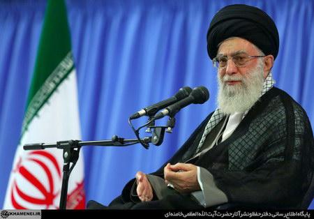 دیدار امام خامنه ای (س) با فرماندهان سپاه پاسداران انقلاب اسلامی