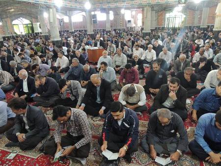 مراسم دعای عرفه - بهشهر 92
