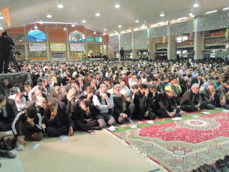 مراسم دعای ندبه - بهشهر 1392