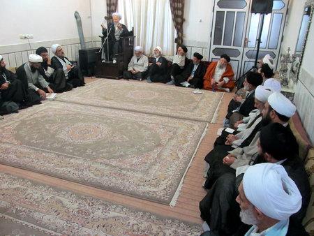 مراسم عزاداری با حضور حضرت آیت الله جباری - سخنرانی حجت الاسلام والمسلمین روحانی نژاد