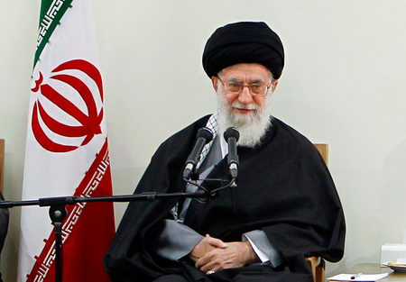 حضرت امام خامنه ای (س) در دیدار با اعضای شورای عالی انقلاب فرهنگی