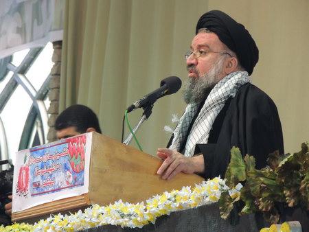 هفتمین یادواره سرداران و هشتصد شهید شهرستان بهشهر  حضرت آیت الله خاتمی