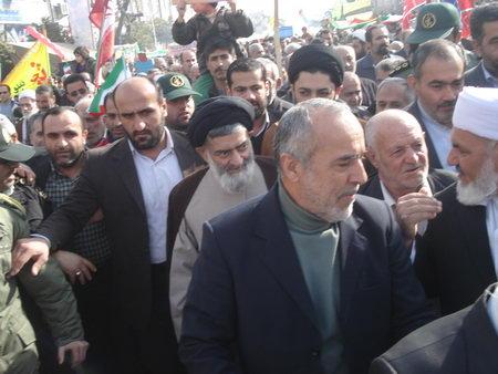 راهپیمایی 22 بهمن بهشهر ، دهه فجر 92 - آیت الله جباری