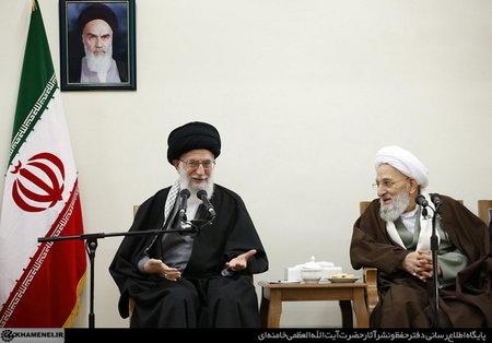 حضرت امام خامنه ای (س) در دیدار با اعضای مجلس خبرگان رهبری