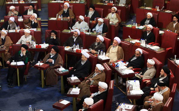 15 پانزدهمین اجلاسیه رسمی دوره 4 چهارم مجلس خبرگان رهبری