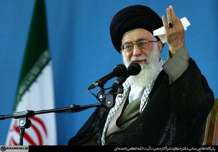امام خامنه ای (س) در دیدار با معلمان و فرهنگیان سراسر کشور ، مقام معظم رهبری