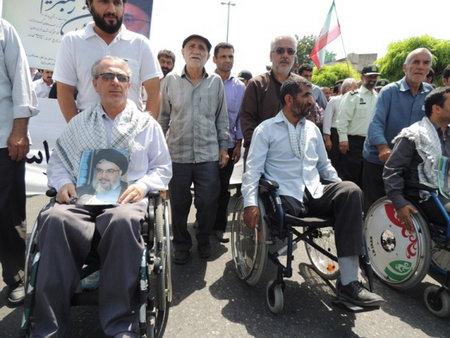 راهپیمایی روز قدس 93 بهشهر