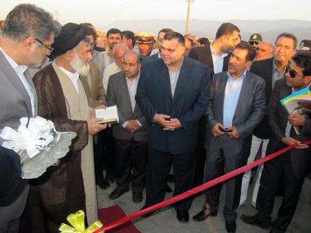 افتتاح تقاطع غیرهمسطح کمربندی بهشهر ، پل رو گذر کمربندی بهشهر