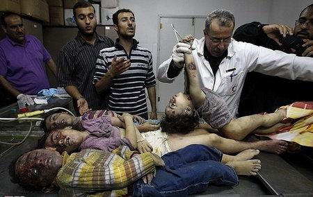 مسئله غزه مسئله اول جهان اسلام - جنایت در غزه و کشتار کودکان در غزه