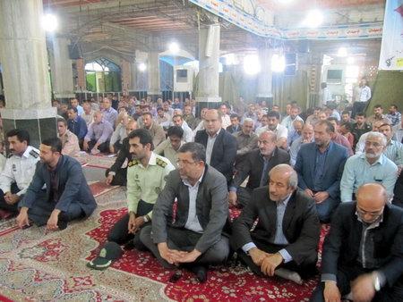 گرامیداشت هفته دولت در مسجد جامع بهشهر